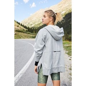 NWT Free People Higher Goals Hoodie S Small Grey